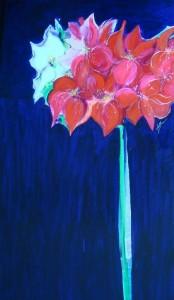 """28"""" X 48"""" Acrylic on Canvas"""